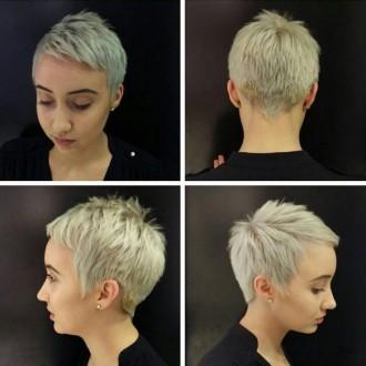 Стрижка пикси на короткие волосы фото 2017 фото