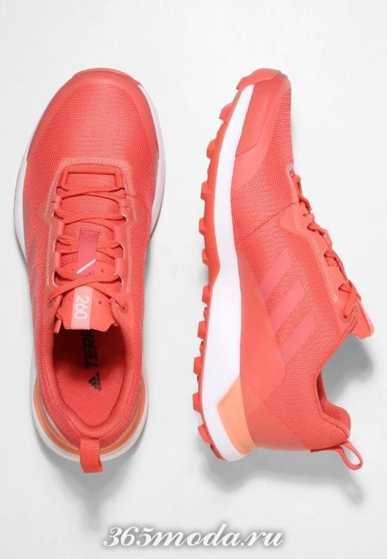 Кроссовки Adidas женские красные