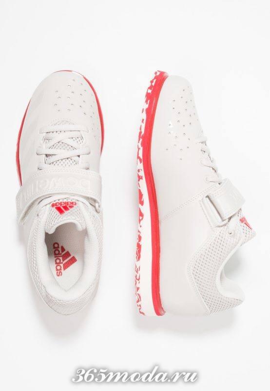 Кроссовки Adidas женские белые