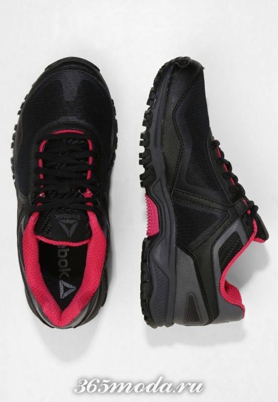 Женские кроссовки Reebok черные