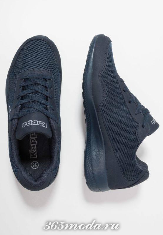 Женские кроссовки синие