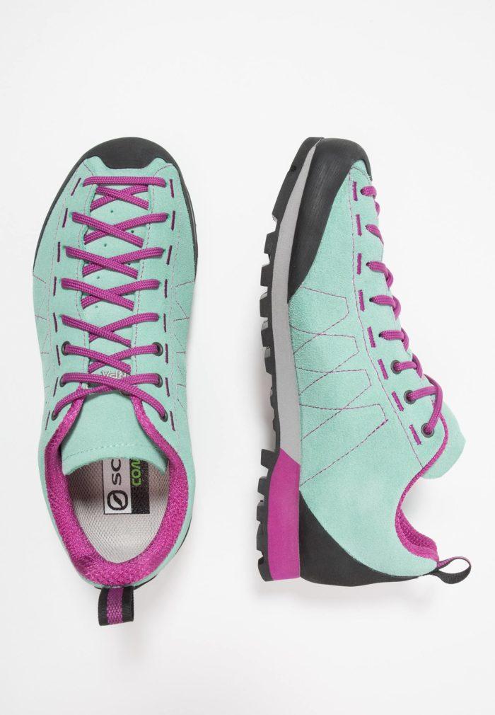 Женские кроссовки бирюзовые