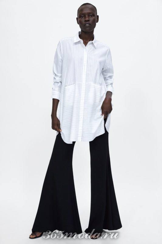 Рубашка белого цвета