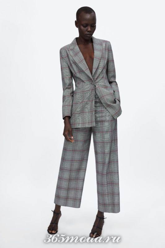 Модные деловые костюмы весна-лето 2018