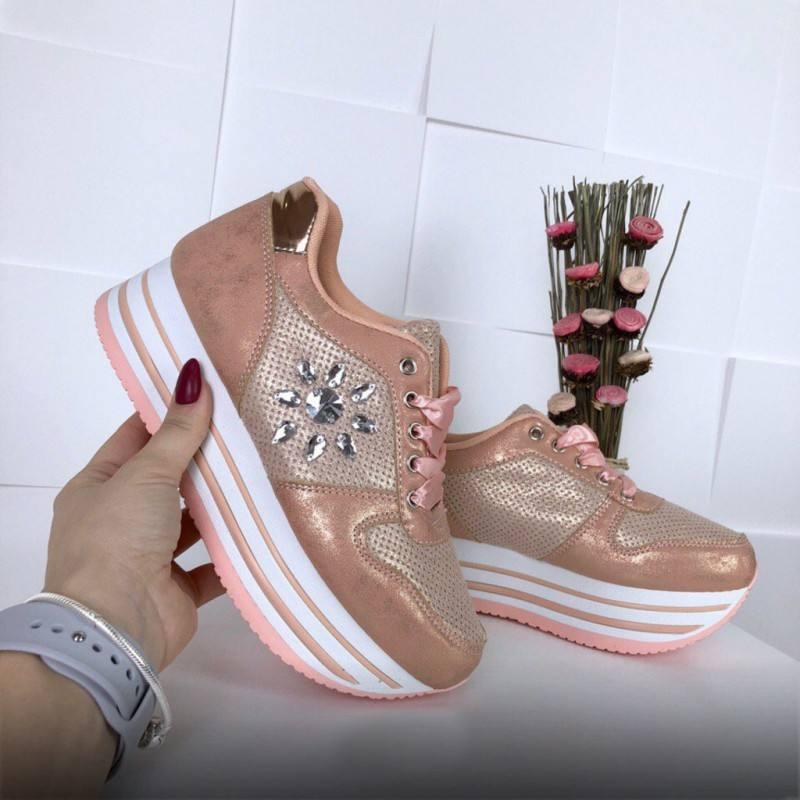 Сникерсы розовые