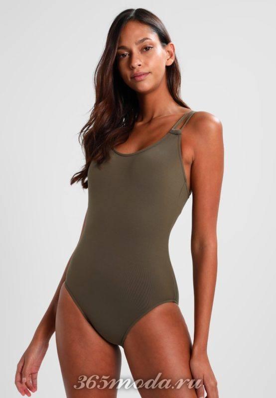 Модные слитные купальники лето 2018