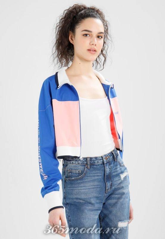 Куртка женская цветная
