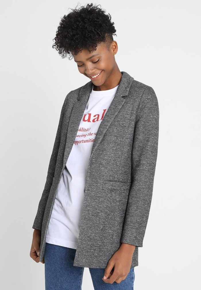 Куртка женская серая