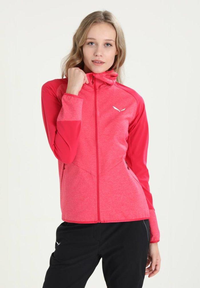 Спортивная куртка розовая