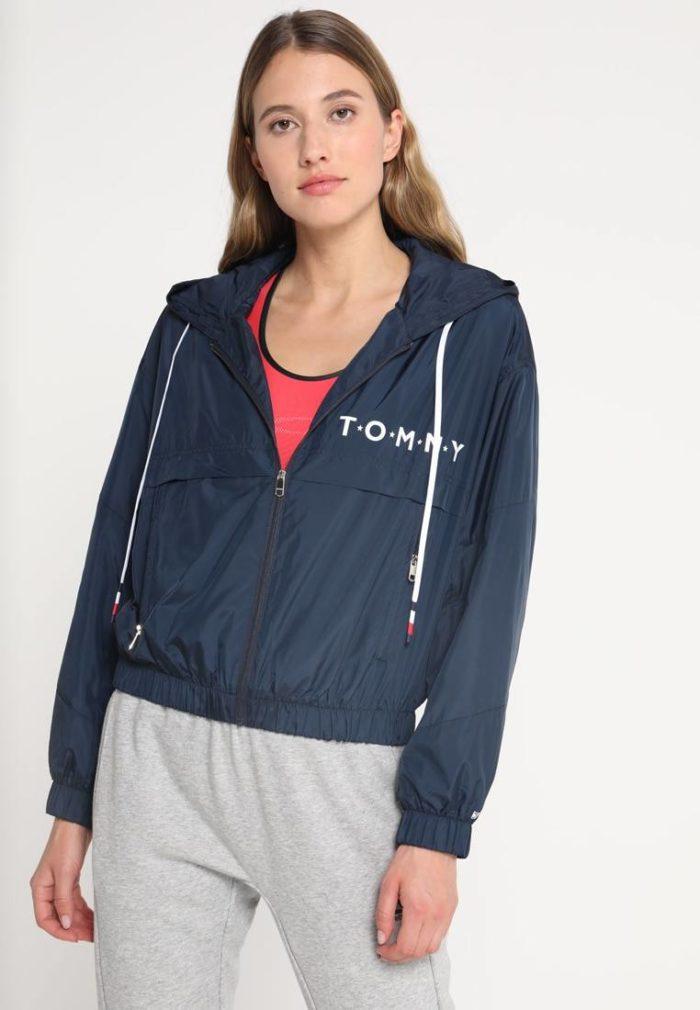 Спортивная куртка синяя