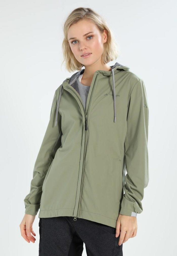 Спортивная куртка оливковая