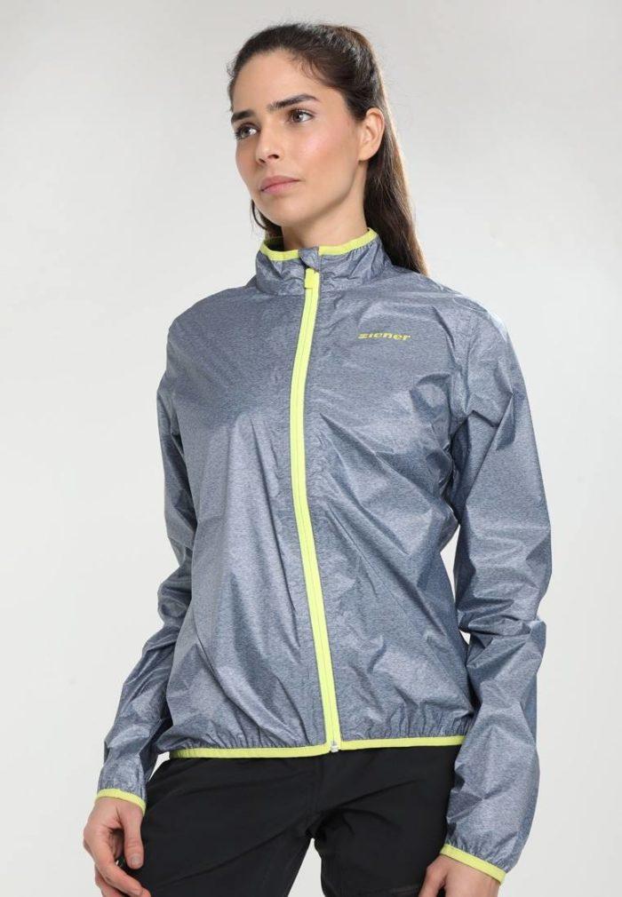 Спортивная куртка серая
