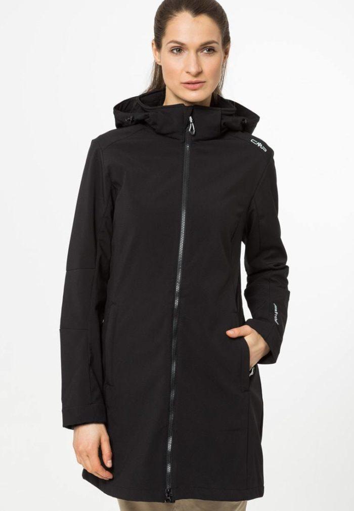 Спортивное пальто женское черное