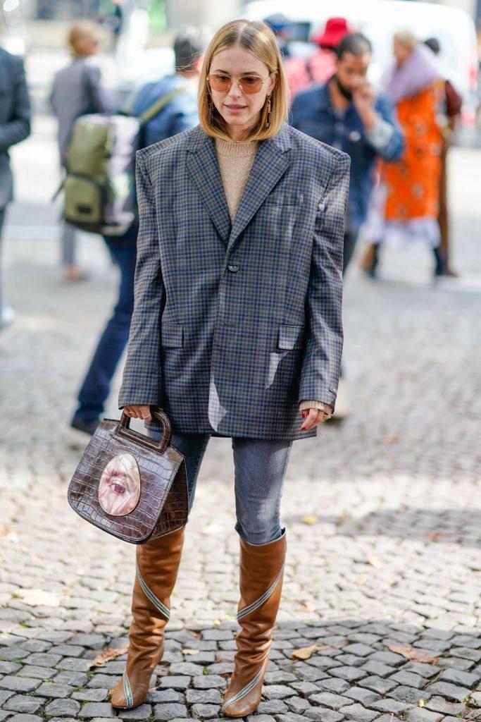 Модные пиджаки оверсайз весна-лето 2019