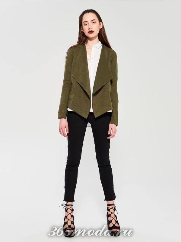 Модные асимметричные пиджаки весна-лето 2018