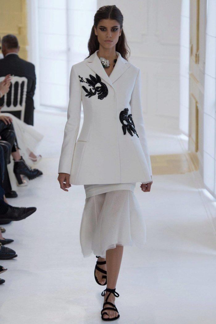 Модные пиджаки-пеплум весна-лето 2019
