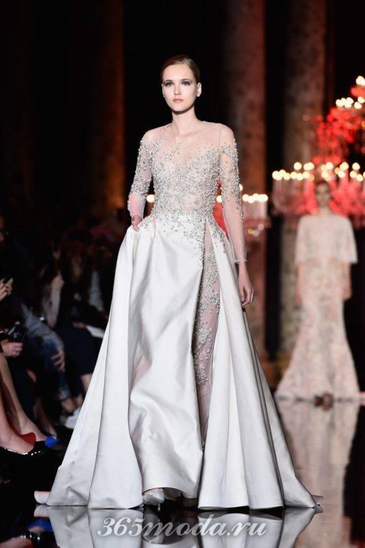 Модный декор платьев на выпускной 2019
