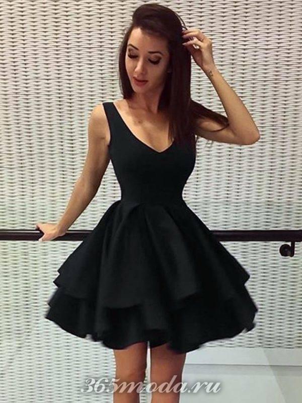 Модные короткие платья на выпускной 2019