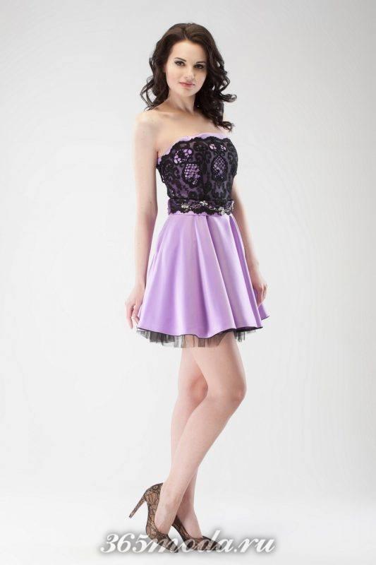 Модные платья-бюстье на выпускной 2019