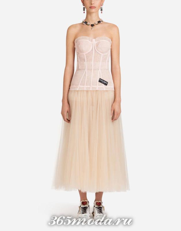 Модное платье весна-лето 2018