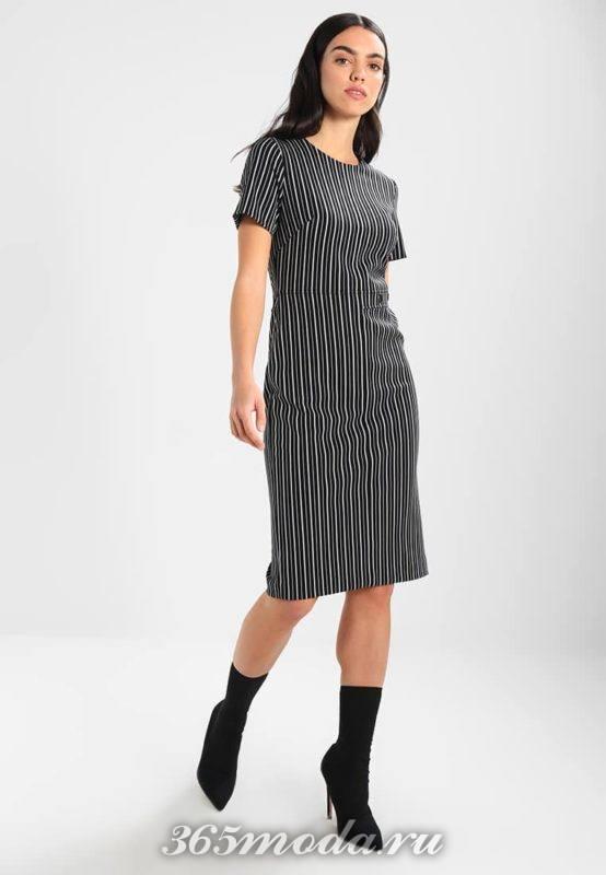 Модное деловое платье весна-лето 2018