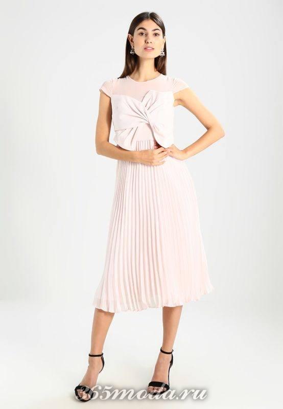 Модное коктейльное платье весна-лето 2018