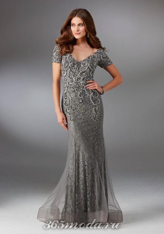 Модное вечернее платье весна-лето 2018