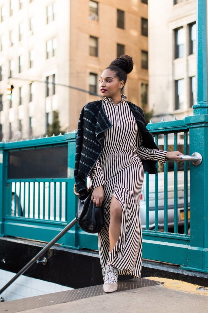 Модный принт повседневного платья весна-лето 2019
