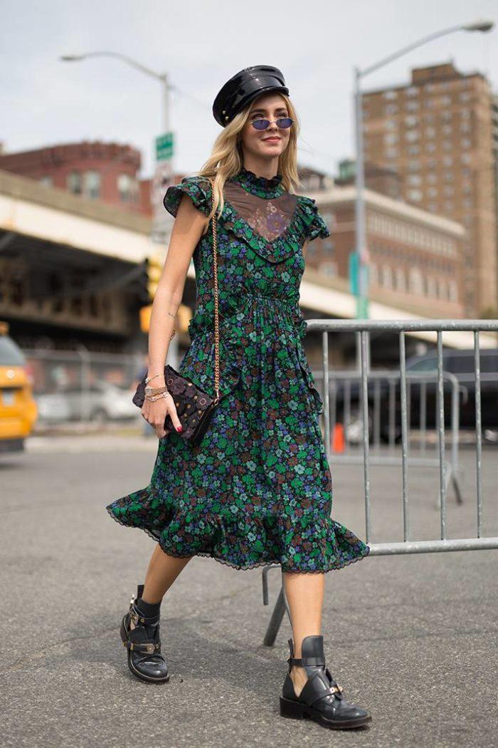 Модное повседневное платье весна-лето 2019