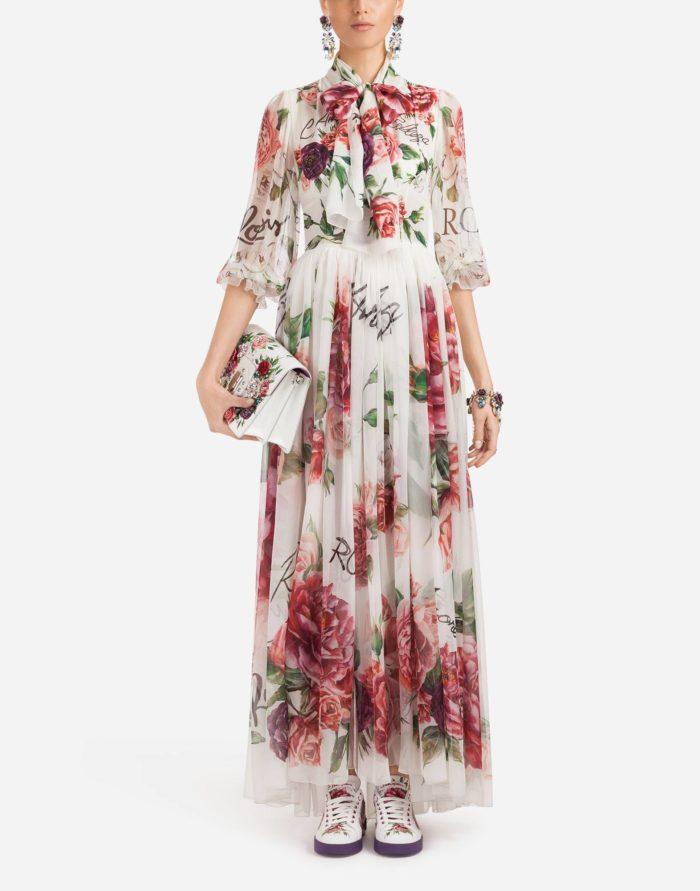 Модное платье макси весна-лето 2019