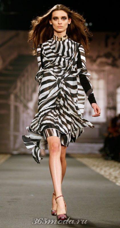 Модный принт для платья