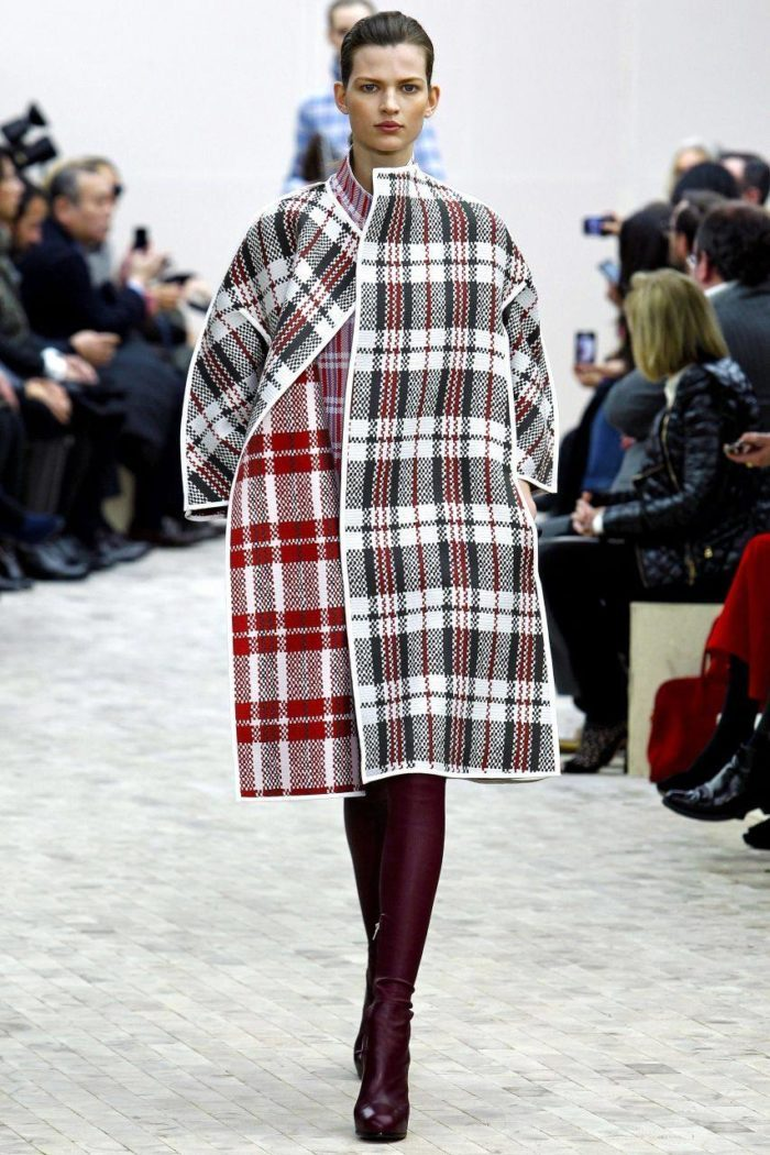 Модные принты весна-лето 2019: Пальто в клетку
