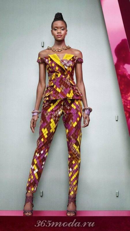 Модный принт для костюма