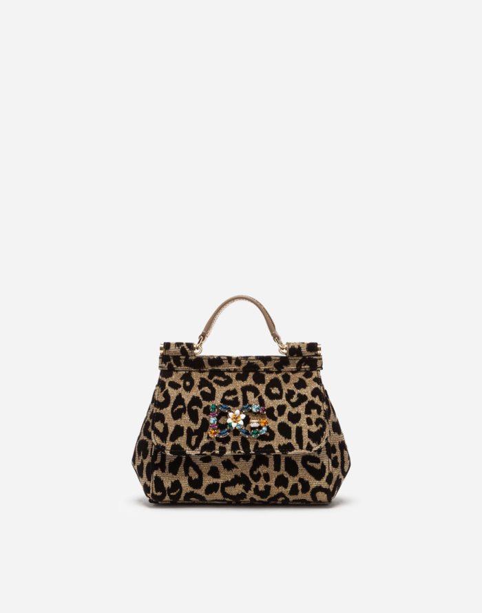 леопардовая с камнями