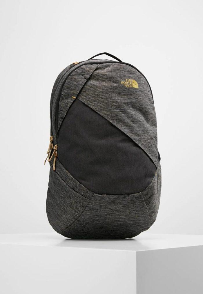 модный рюкзак серый на молнии