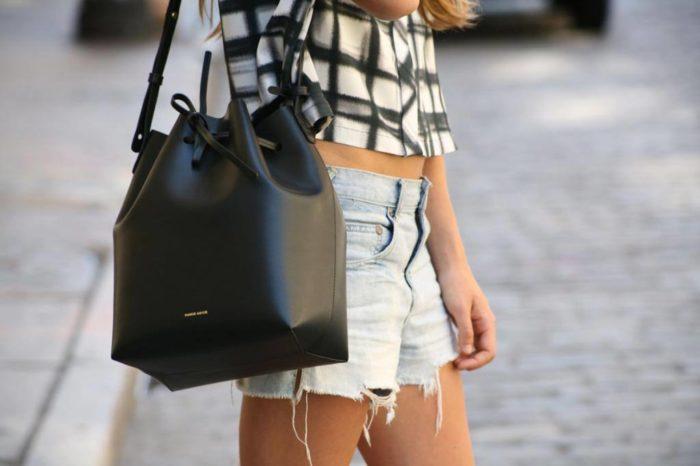 сумка-мешок черная