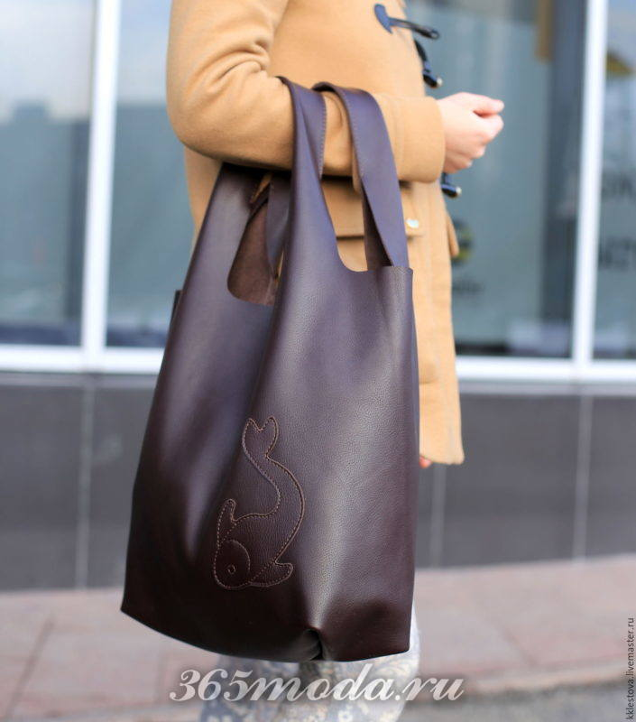 Модная сумка-мешок весна-лето 2019