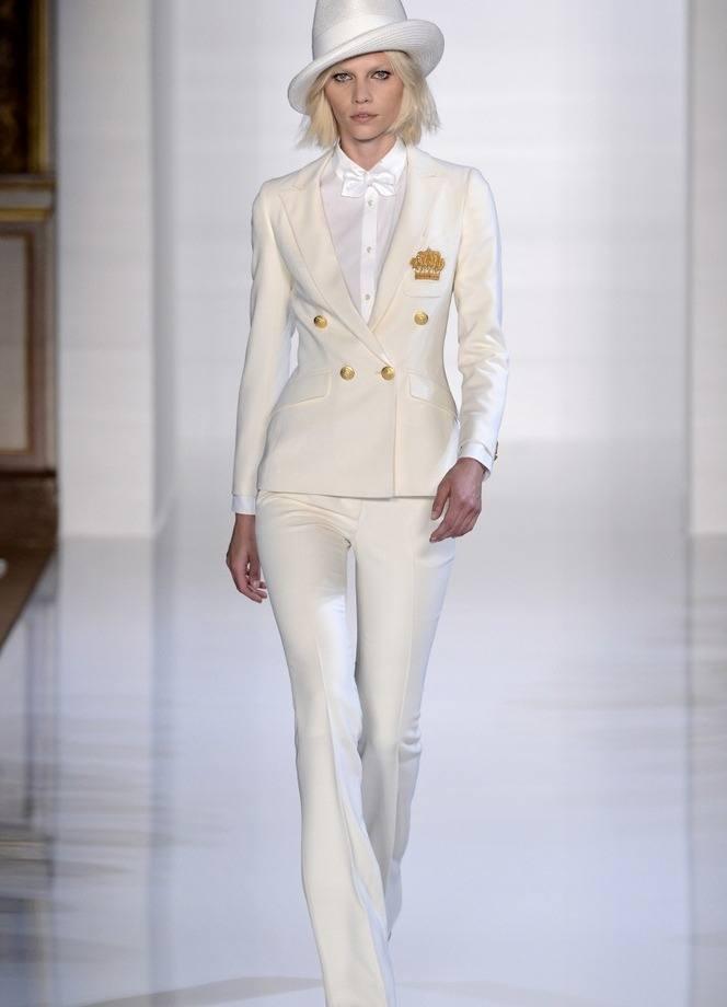 Модные свадебные брючные костюмы весна-лето 2019