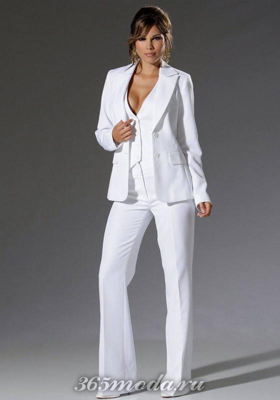 Модные свадебные брючные костюмы весна-лето 2018