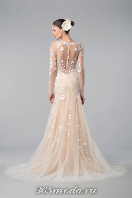 Модные дизайнерские свадебные платья весна-лето 2018