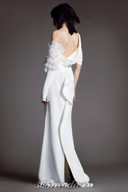 Модные свадебные платья отVera Wangвесна-лето 2018