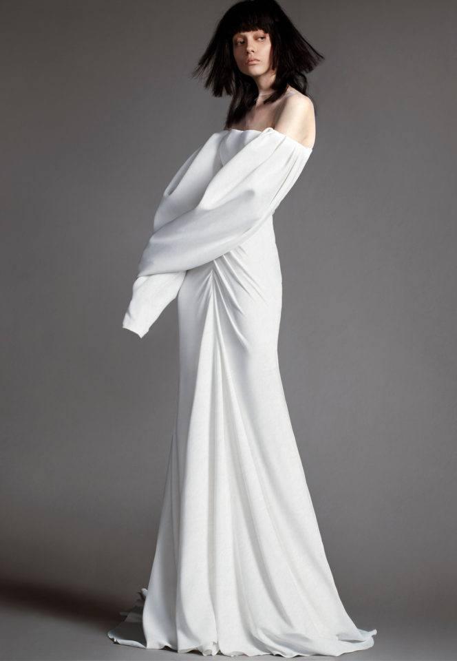 Модные свадебные платья отVera Wangвесна-лето 2019