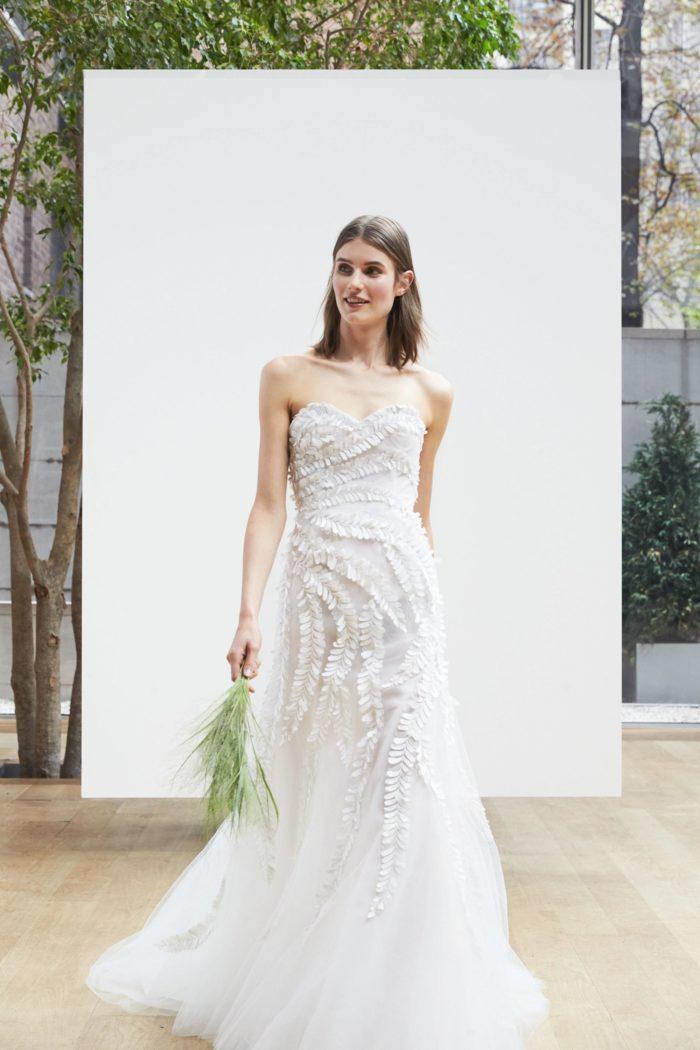 Модные свадебные платья отOscar de la Rentaвесна-лето 2019