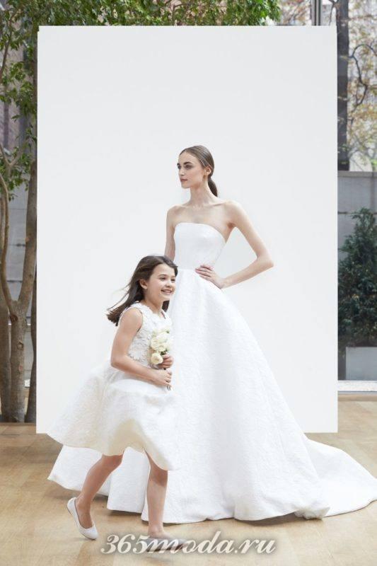 Модные свадебные платья отOscar de la Rentaвесна-лето 2018