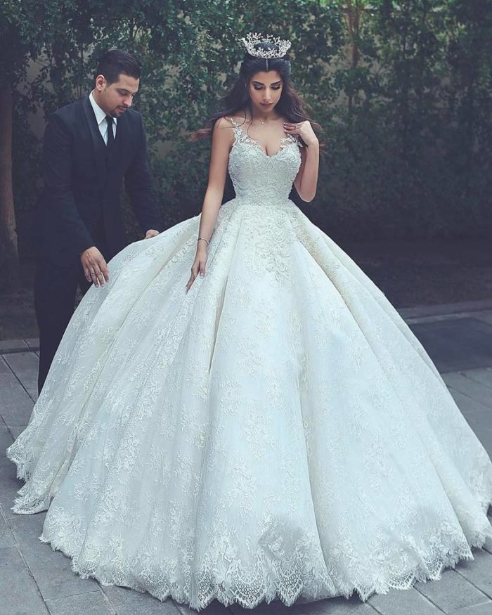 Модное свадебное платье весна-лето 2019