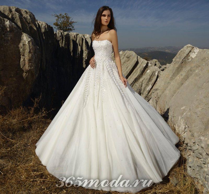 Модные свадебные платья отTony Wardвесна-лето 2018