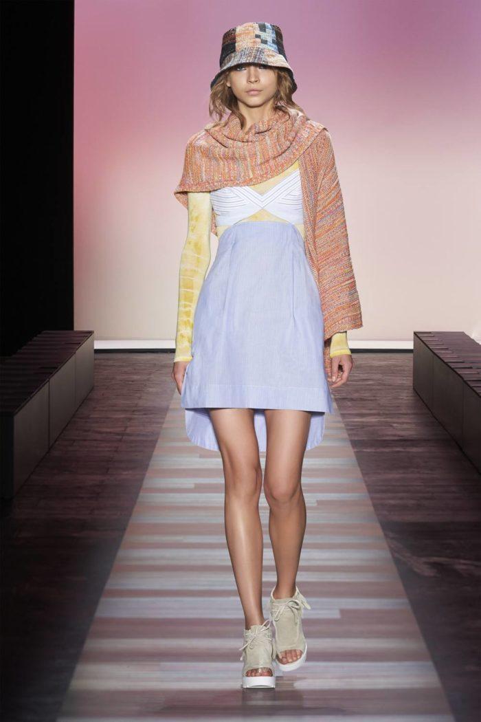 юбка цвета Серенити