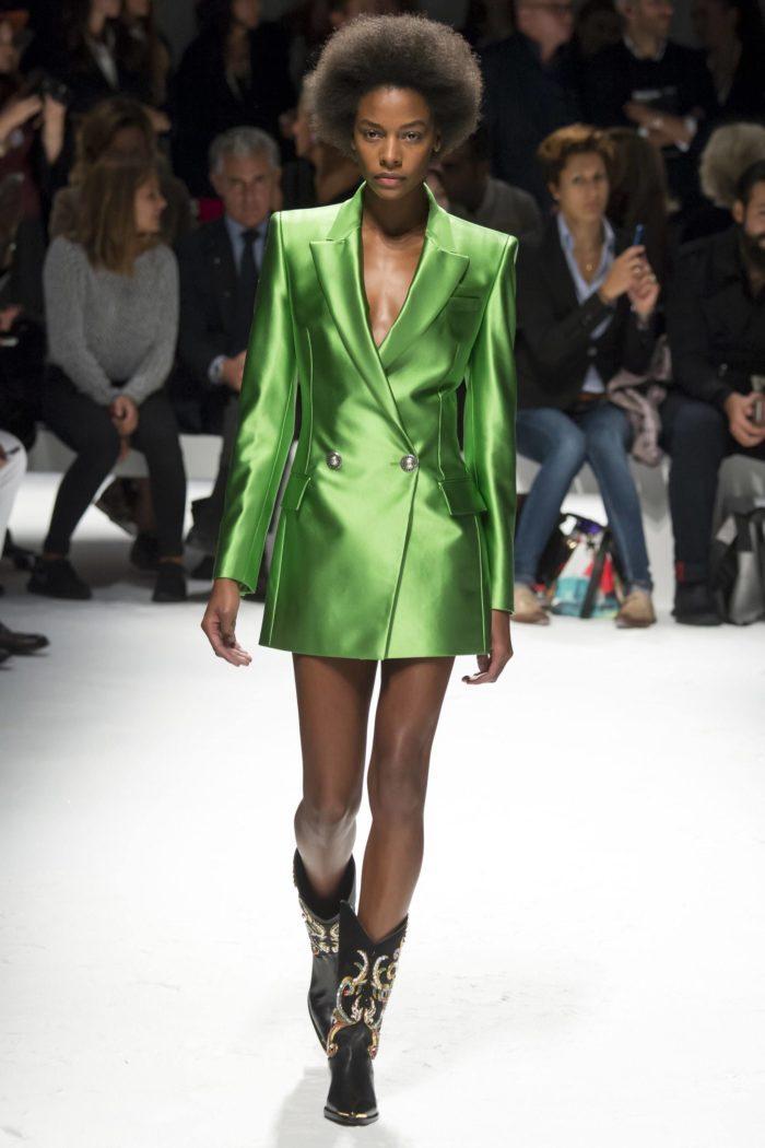 Жакет цвета Зеленый луч
