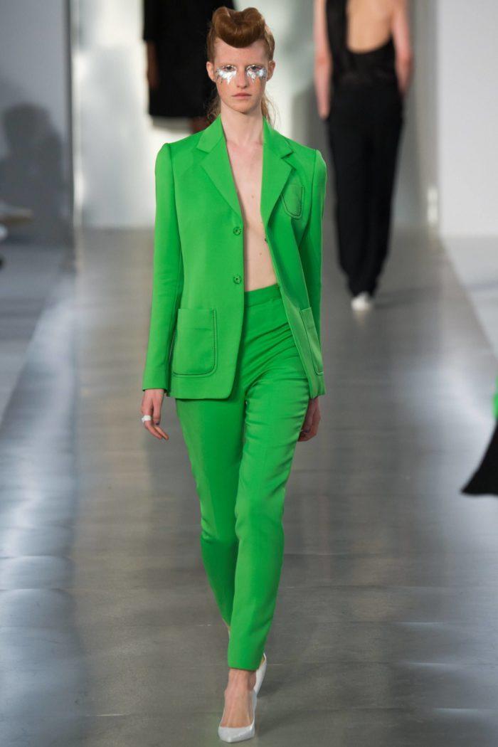 Костюм цвета Зеленый луч