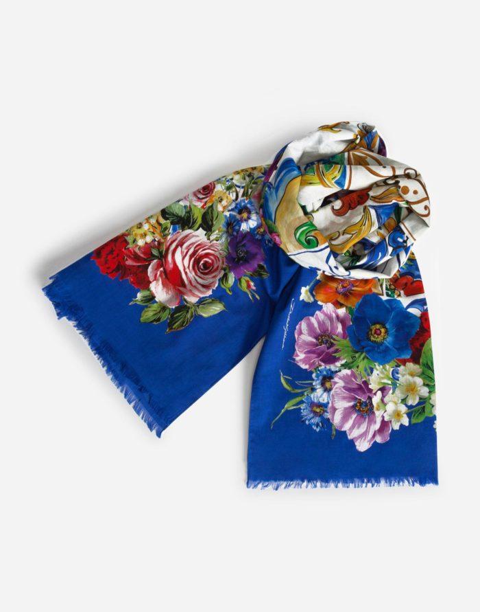 Модные платки и шарфы весна-лето 2019